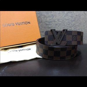 Other - Brand new men's brown Daumier Louis Vuitton belt